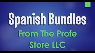 Spanish Bundle Preview