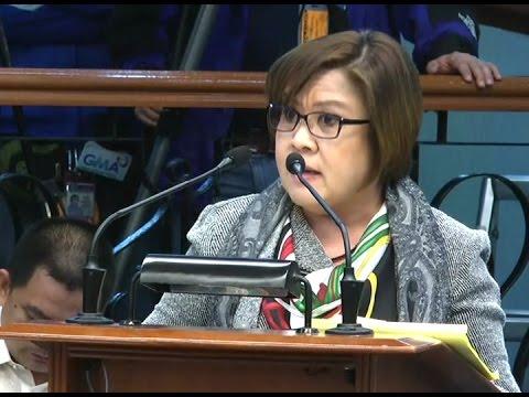 Senate Ethics Committee dismisses two complaints against Sen. Leila de Lima