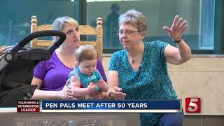 Pen Pals Meet In Nashville After 50 Years