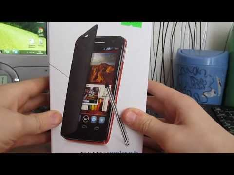 Комплектация Alcatel One Touch Scribe HD