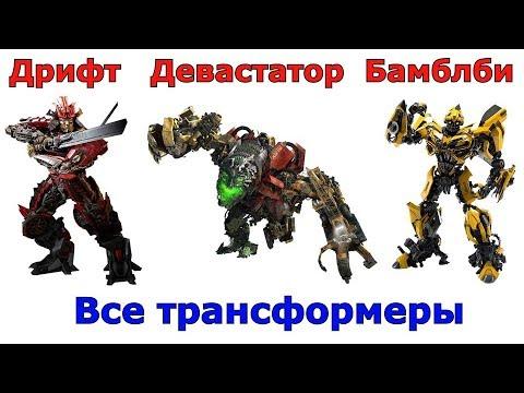 Сравнение всех Трансформеров