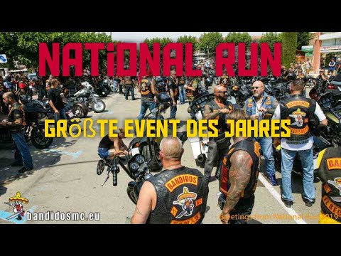 National Run Bandidos | National Meeting | Clubhauswache ect.