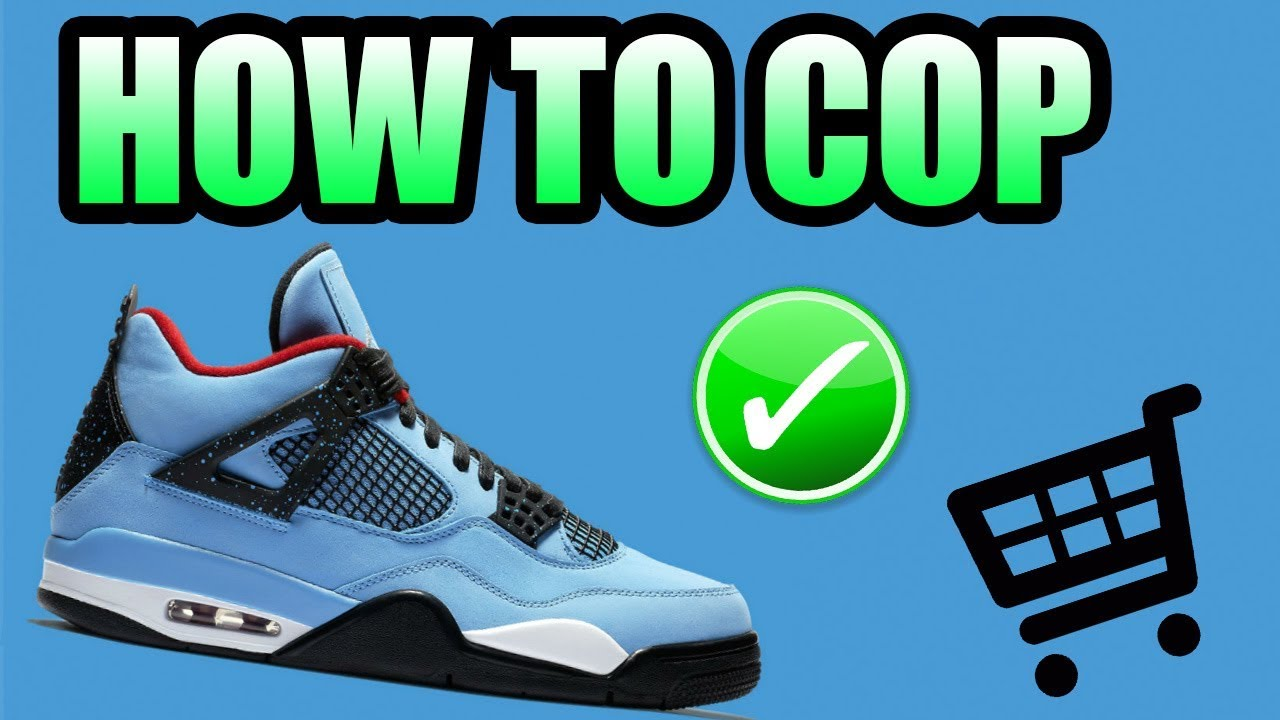 bc29b7c18335 How To Get The CACTUS JACK Jordan 4 !