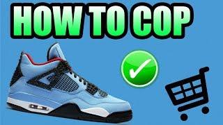 How To Get The CACTUS JACK Jordan 4 !   TRAVIS SCOTT Jordan 4 Release Info !