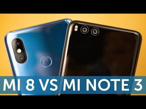 Xiaomi Mi 8 vs Mi Note 3 (Mi 6) сравнение камер в фото и