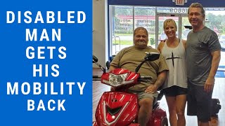 Disabled Man Gets His Mobility Back