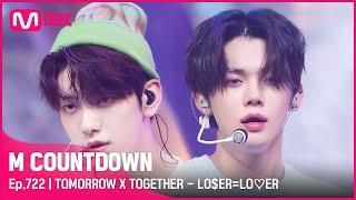 [TOMORROW X TOGETHER - LO$ER=LO♡ER] Comeback Stage   #엠카운트다운 EP.722   Mnet 210826 방송