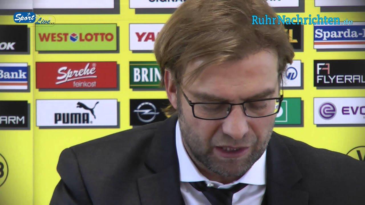 BVB Pressekonferenz vom 22. November 2012 vor dem Spiel Mainz 05 gegen Borussia Dortmund