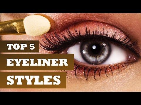 Top 5 Eyeliner Styles, Tutorial - Get Stylish with Poornima Indrajith