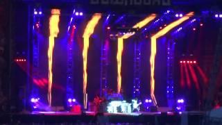 KISS - war machine  live at download festival uk 2015