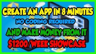 Mobile Agency Apps Review - How To Create An App with No Coding & Make Money From It 2018