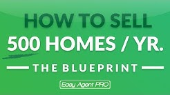 1/3: How To Sell 500 Homes A Year In Real Estate