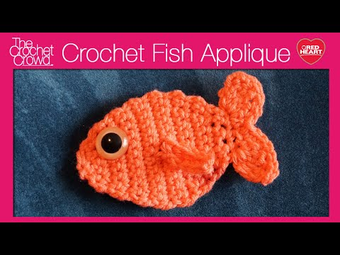 Crochet Fish AppliquE - YouTube