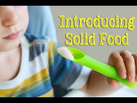How to introduce solid foods to your baby first foods