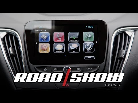 2017 Chevy Malibu dashboard walkthrough