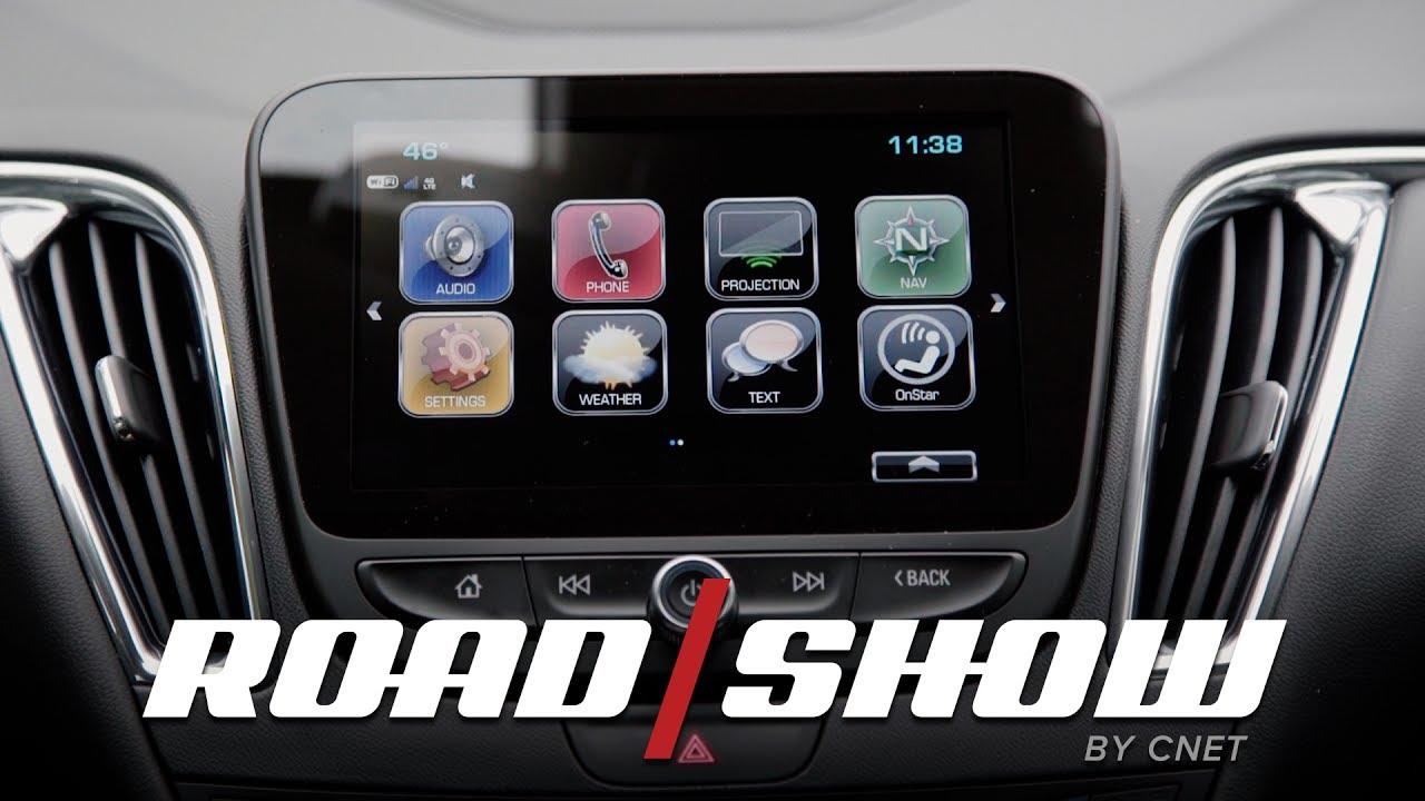 2017 Chevy Malibu dashboard walkthrough