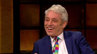John Bercow on his different styles of 'order' | The Late Late Show | RTÉ One