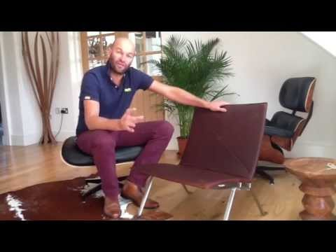 Pk22 Easy Chair Demonstration   Iconic Interiors   YouTube