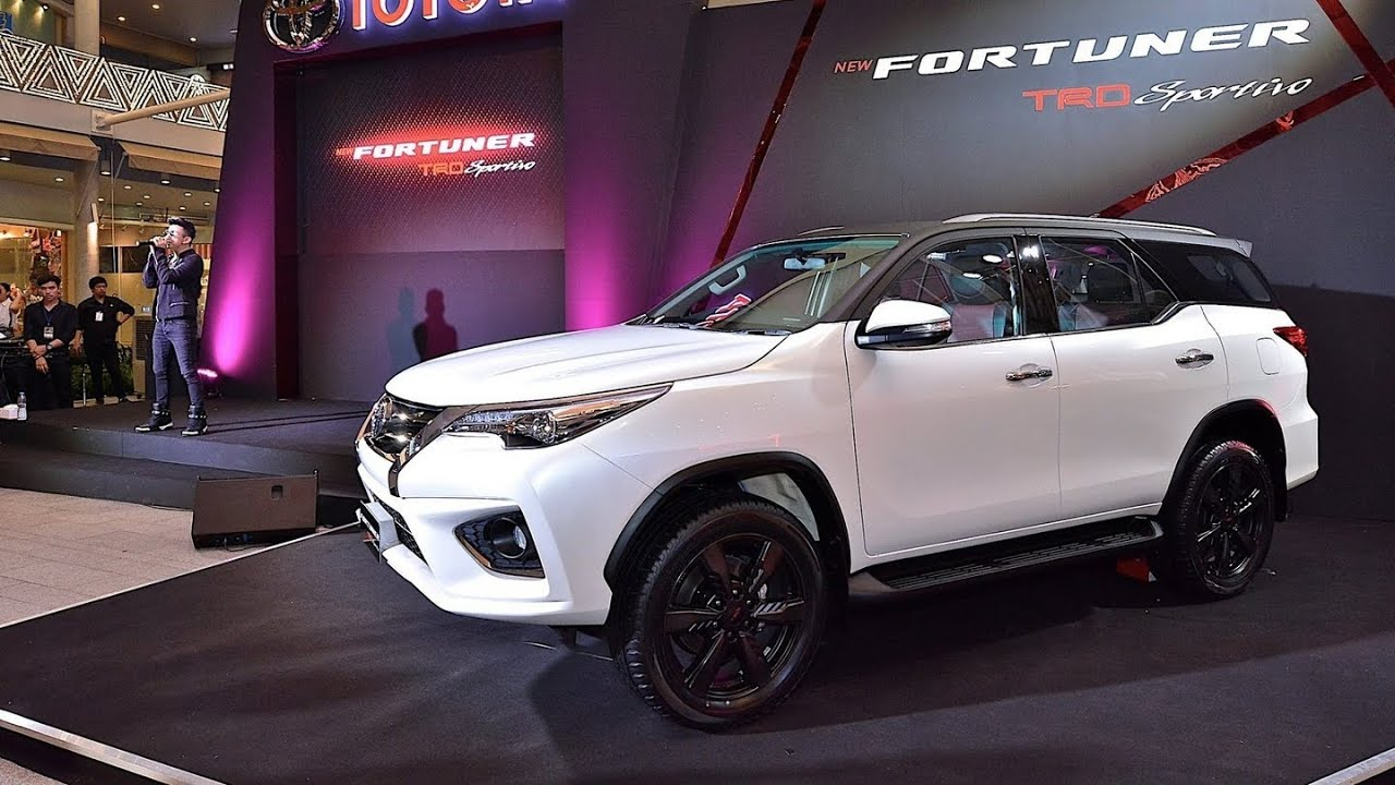 2016 New Toyota Fortuner TRD Sportivo - YouTube