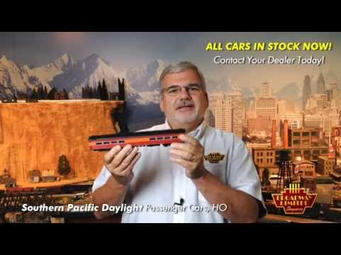 OFFICIAL HO Southern Pacific Daylight Train Promo Video by Broadway Limited Imports, LLC
