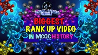 Biggest Rank Up Video in MCOC History-Marvel Contest of Champions