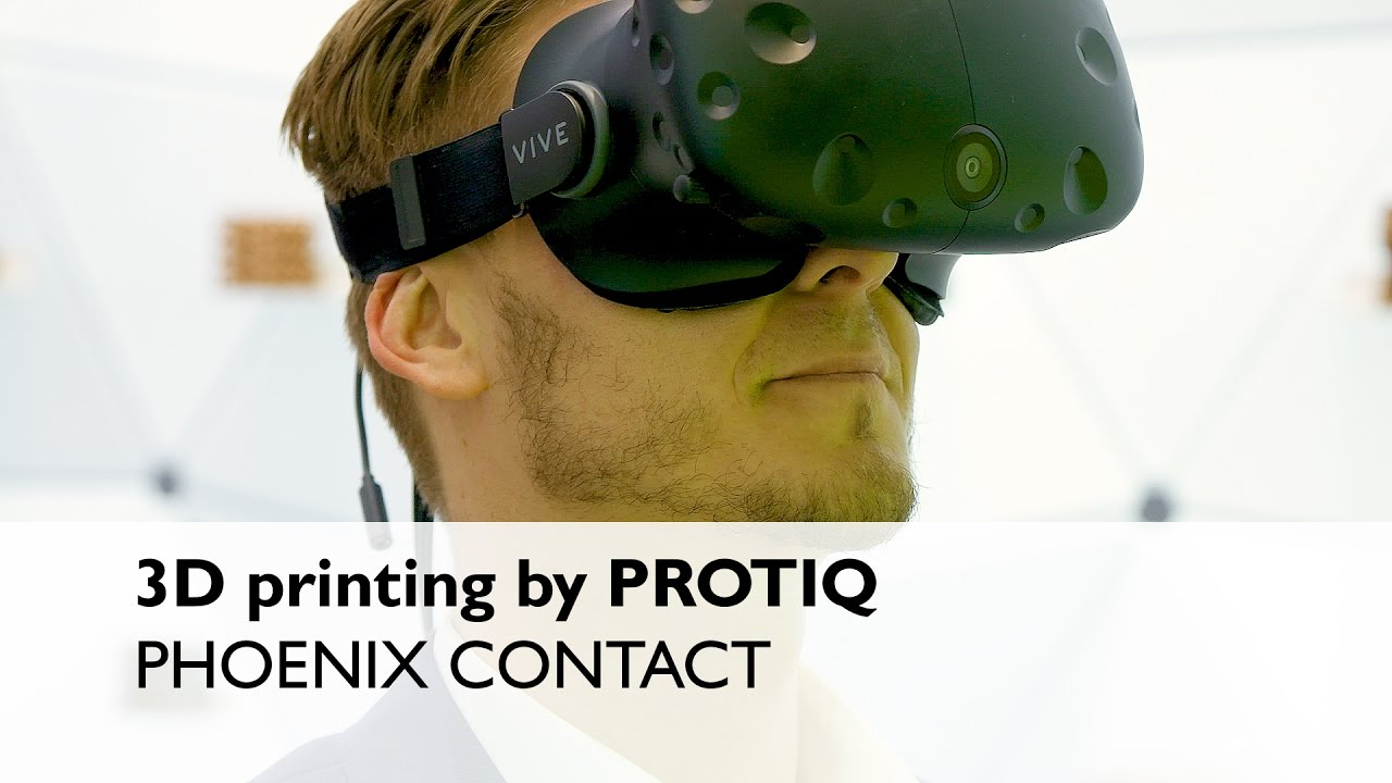3D printing process explained at the PROTIQ booth! - Phoenix Contact