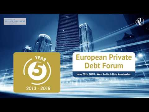 European Private Debt Forum – 5 years going forward!