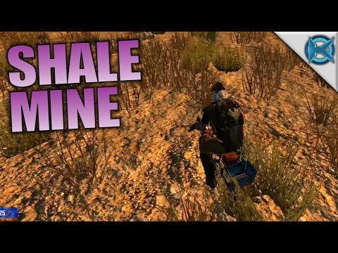 SHALE MINE | Husband & Wife 7 Days to Die | Let's Play Gameplay | S05E27