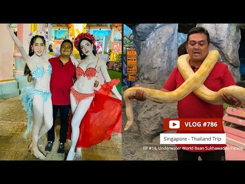 This Happens Only In Thailand !! Sukhawadee Palace & Underwater World, EP #14