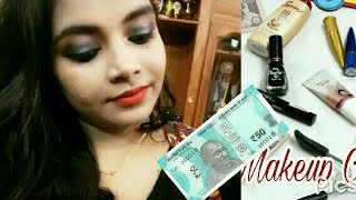 Full face of makeup using products under Rs.50 | Good quality | Keerthi Shrathah | KS
