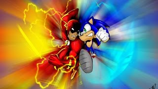 SONIC VS THE FLASH RAP BATTLE