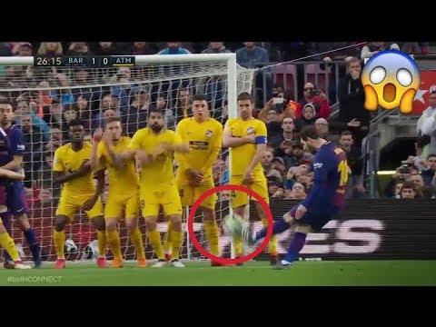 Barcelona Vs Ath. Madrid  Leo Messi Bags Superb Free-kick