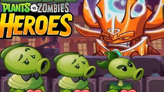 Final Zombie Mission - A Shadow Falls | Plants Vs Zombies Heroes