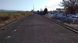 利別駅  キハ283系特急おおぞら