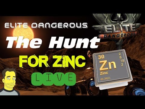 Elite Dangerous - Mining in the Conflux for Zinc -  Live Gameplay