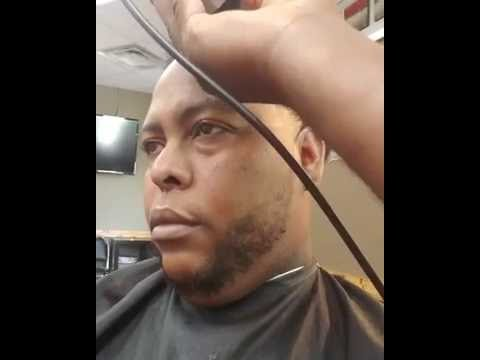 Barber Cuts Fresh Line with the Bevel Trimmer