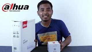 Unboxing and Review Dahua 8 channel DVR/XVR plsu cc camera |Bengali|
