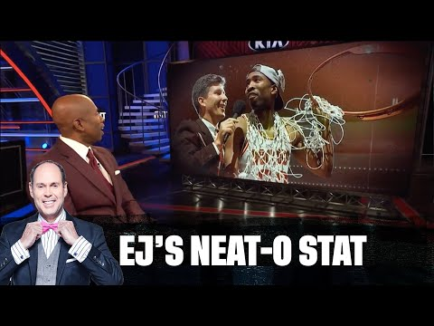 Kenny Smith Celebrates 20 Years at TNT | EJ Neat-O Stat