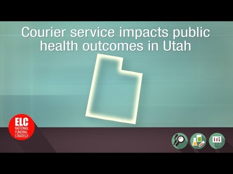 Courier Service impacts public health in Utah