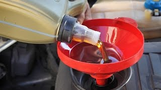 WHAT HAPPENS IF YOU POUR DIESEL OIL IN A DIRTY PETROL ENGINE