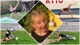 Gymnastics FAILS FALLS und OUTTAKES 😂🙈😂 manchmal klappt GARNICHTS 🤦♀️