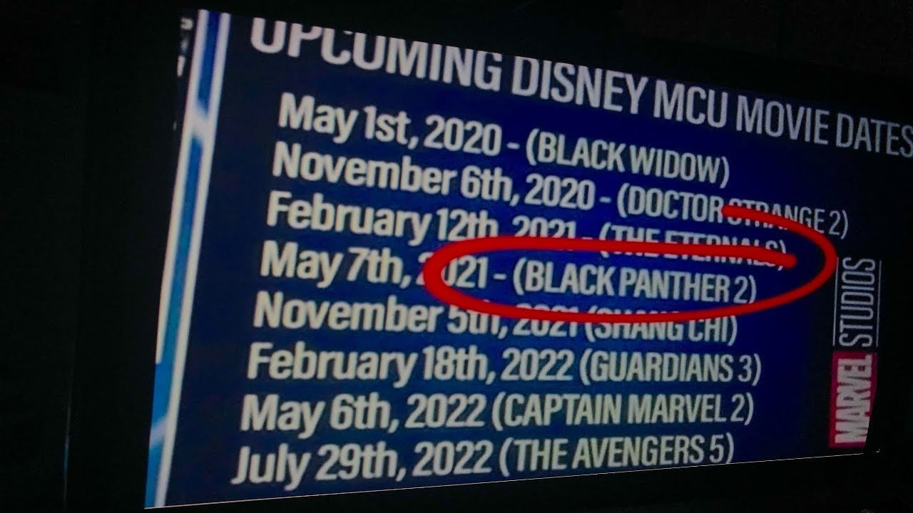 Marvel's MCU PHASE 4 Lineup Has CHANGED! All Movies AFTER Avengers Endgame  (MCU Phase 4 Leaks)