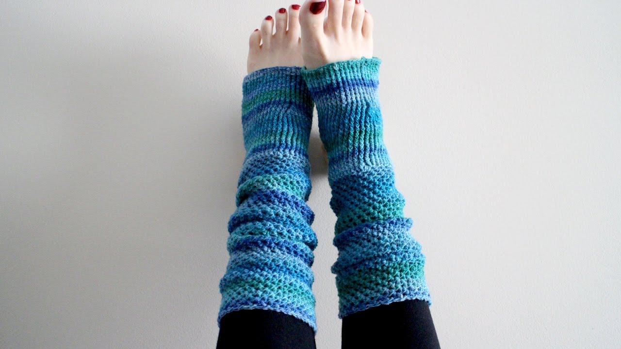 How To Crochet Yoga Socks Youtube