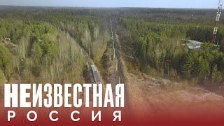 Нескорый поезд Тихвин—Будогощь НЕИЗВЕСТНАЯ РОССИЯ