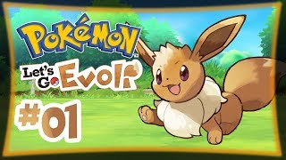 Mit Evoli unterwegs! ★ #01 ★ Pokémon Let