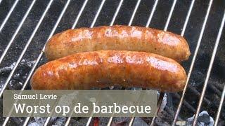 Verse worst op de barbecue door Samuel Levie
