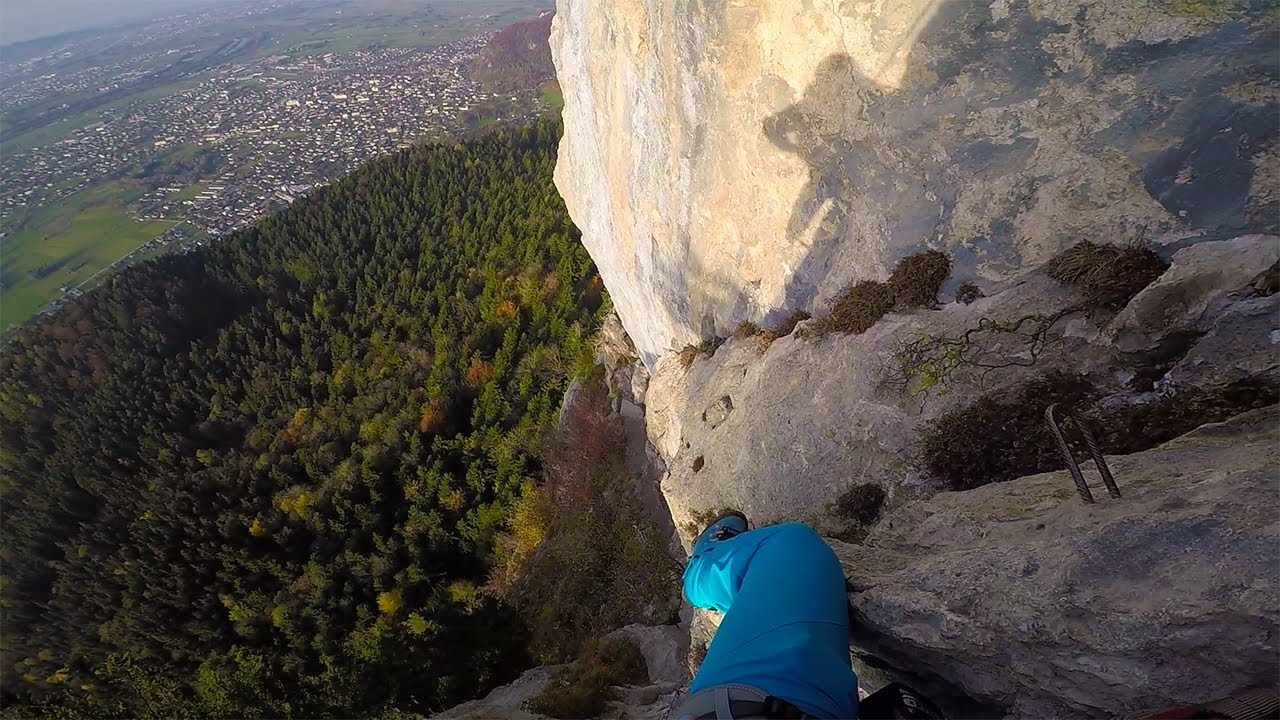 Via Kessi Klettersteig : Via kapf kessi klettersteig vlog no youtube