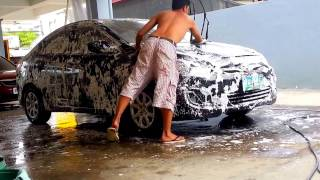 3 CAR WASH HOW WE WASH CARS IN THE PHILIPPINES Hyundai Accent