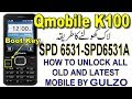 QMobile K100 Reset Code, Read input Password, Restore Security Code, K100 Boot Key By Tahir Tech Tv