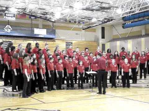 "Parkway Central Middle School (PCMS)  Choir - ""O Nata Lux"" - Six Flags Music Festival"